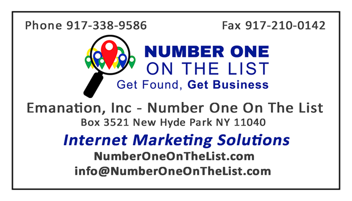 Number One On The List - Internet Marketing Solutions